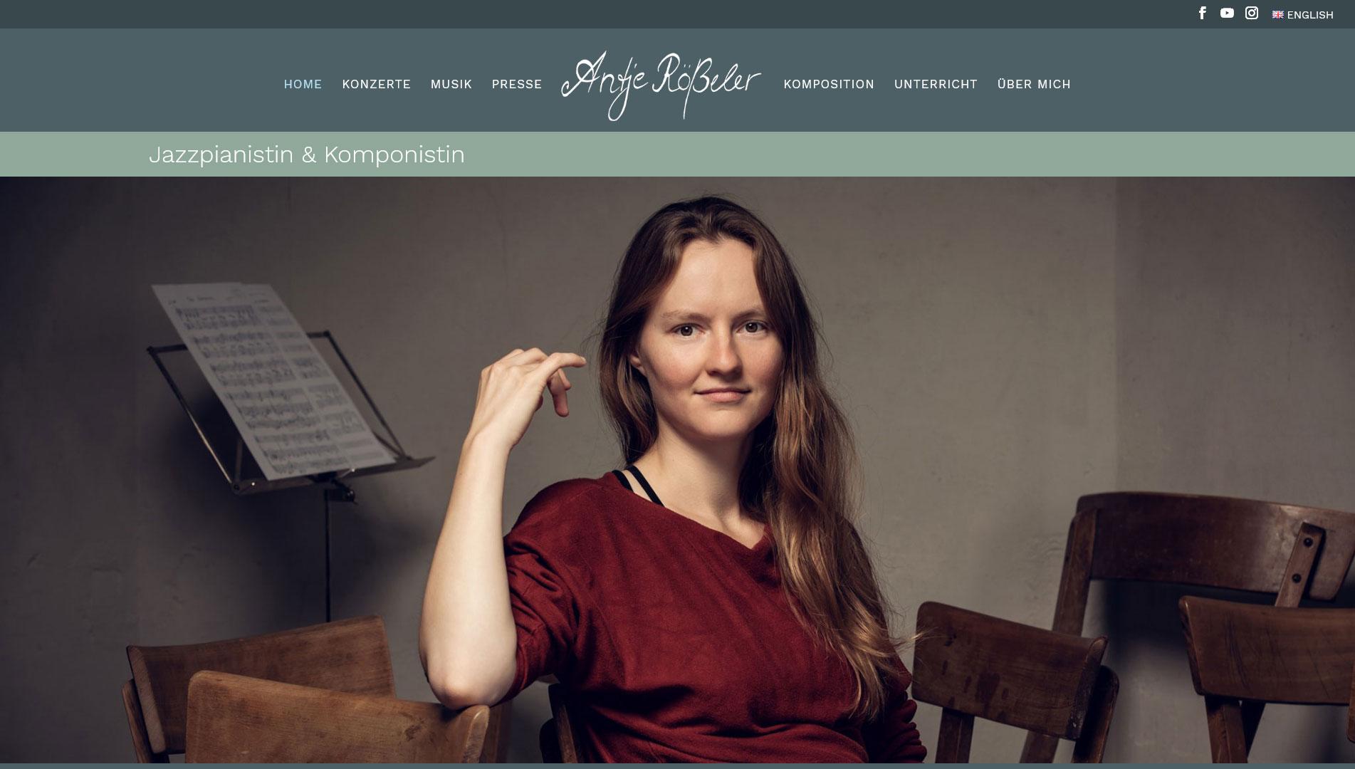 Screenshot Antje Rößeler - Jazzpianistin & Komponistin