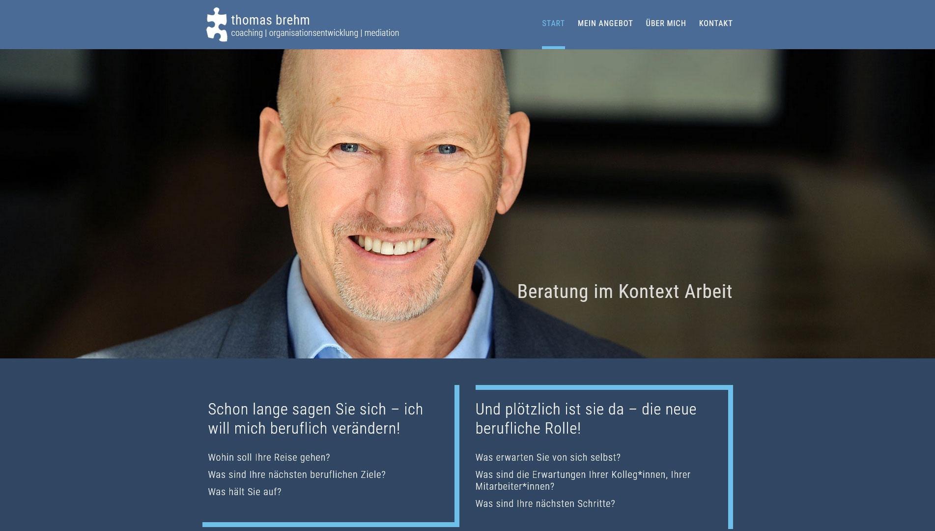 Thomas Brehm - Coaching | Organisationsentwicklung | Mediation